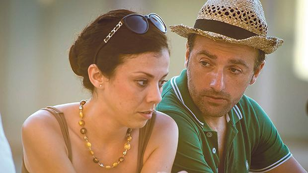 Maria Pia Meli and Aldo Busuttil in the film 20,000 Reasons