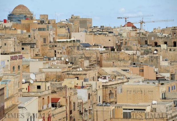 Valletta rooftops are seen on September 21. Photo: Chris Sant Fournier