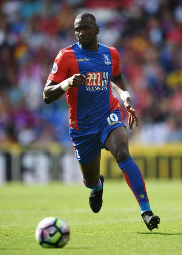 Bolasie had been with Crystal Palace since 2012. Photo: Reuters