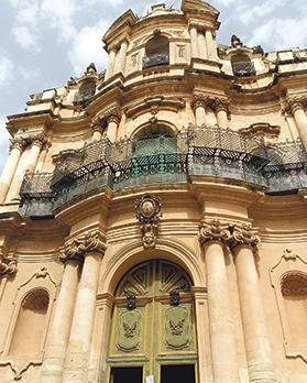 Baroque churches are ubiquitous all over Sicily.