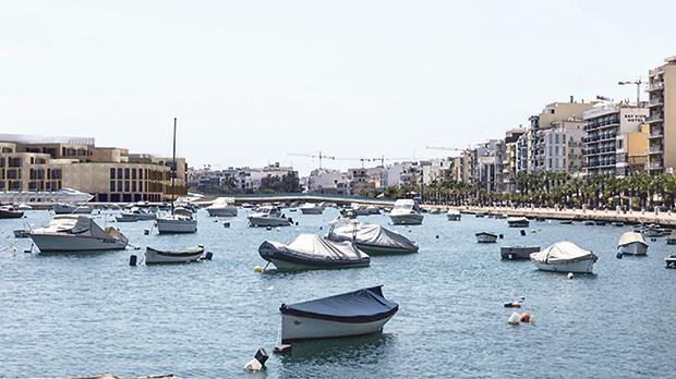 Viewpoint 7: The impact on the landscape as viewed from Triq ix-Xatt (The Strand), Sliema and Gżira.