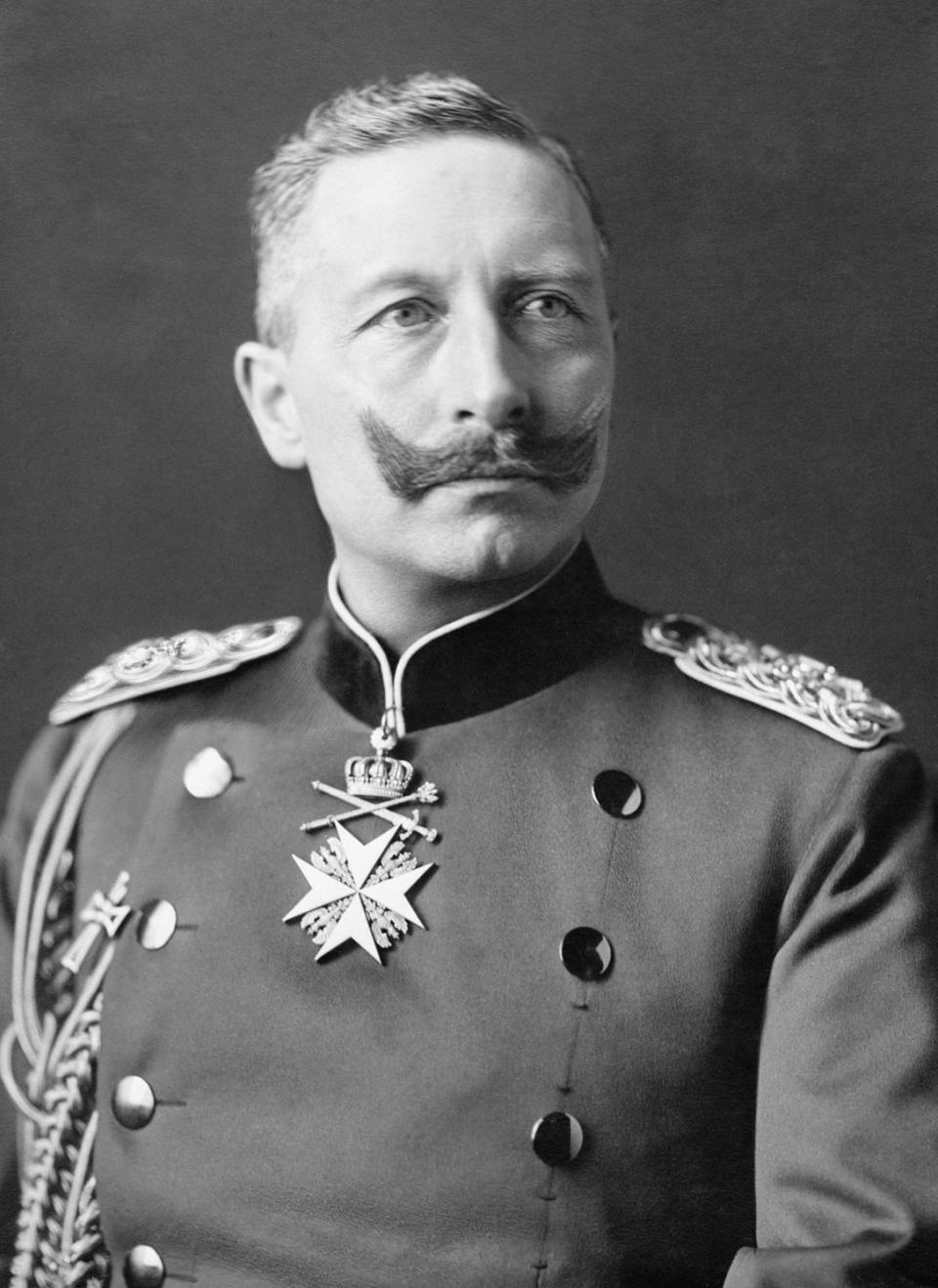 A 1902 portrait of Kaiser Wilhelm II of Germany