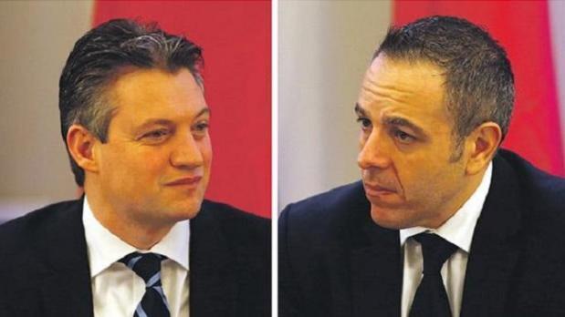 Konrad Mizzi and Keith Schembri.