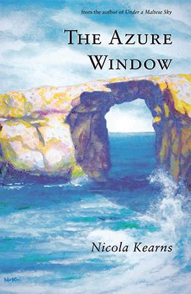 The book cover was painted by Nicola Kearns's father, Nicholas Kearns.