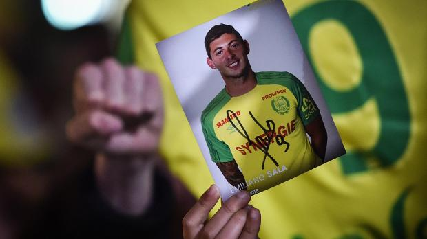 Sala had just signed for Premier League side Cardiff. Photo: AFP