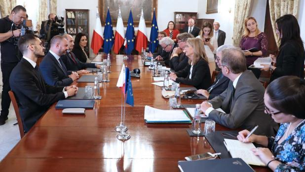 The Venice Commission's experts in Malta in October