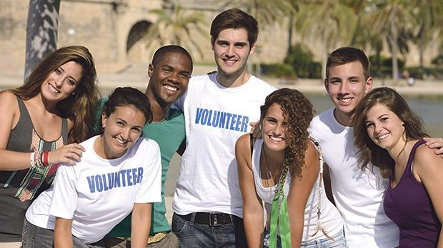 Many youths beat acedia by experiencing voluntary work.