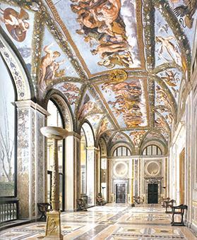 The Loggia of the Villa Farnesina