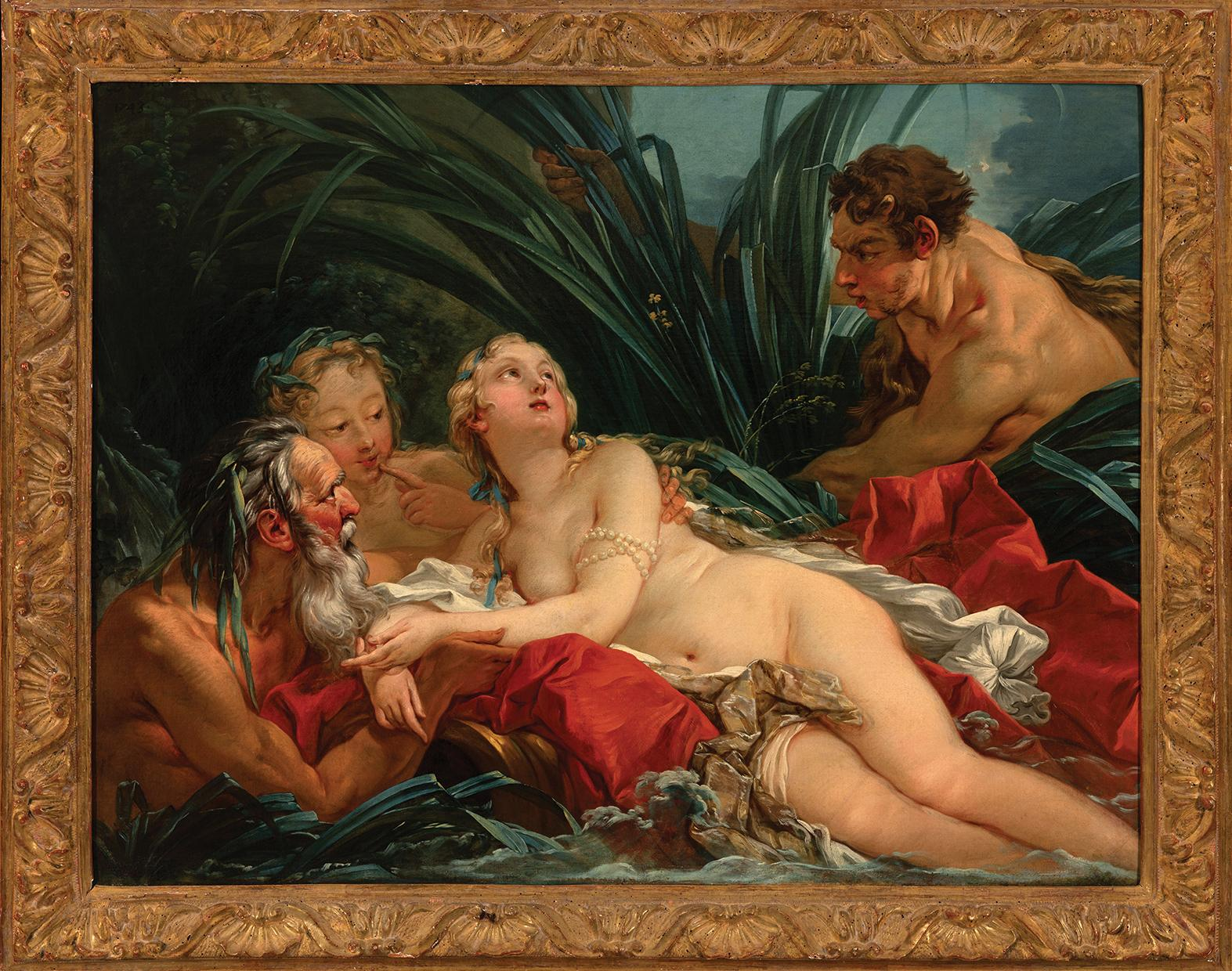 Pan and Syrinx by François Boucher