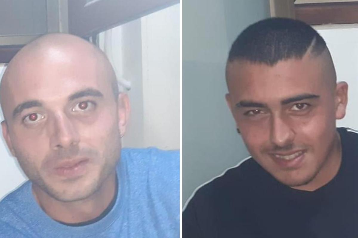 Saviour Gaffarena (left) was killed, while his teenage cousin Vince Gaffarena, was injured in the shooting attack.