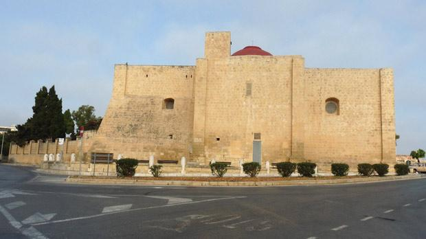The old church-fortress of St Gregory in Żejtun.