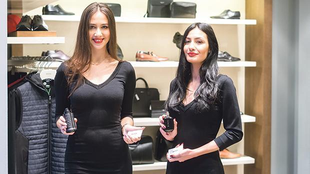 Lara Zammit and Desphina Zahra.