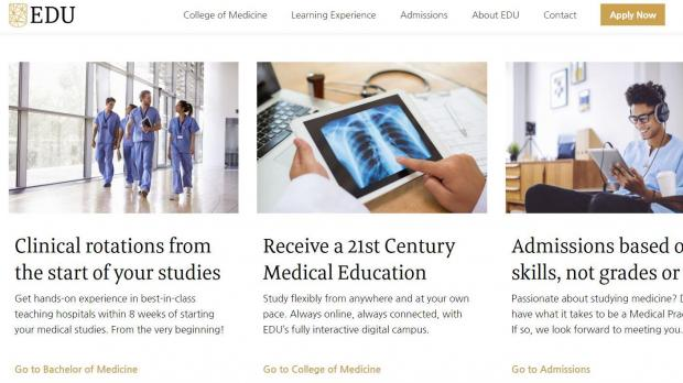 Doctors voiced concerns that the European Digital University could be serving as a back door to work in EU hospitals.