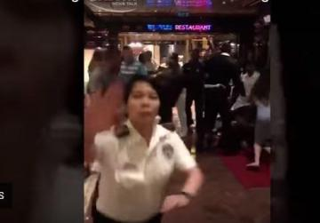 Watch: 30-person brawl breaks out on cruise ship