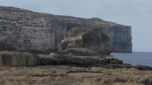 Fungus Rock, Gozo. Photo: Carmen Spiteri