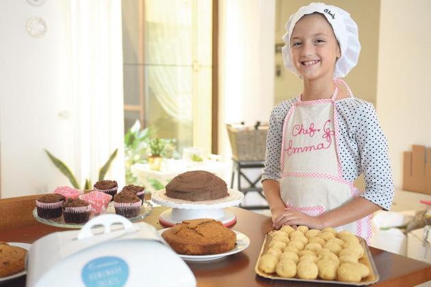 Watch: The 10-year-old baking to help sick children