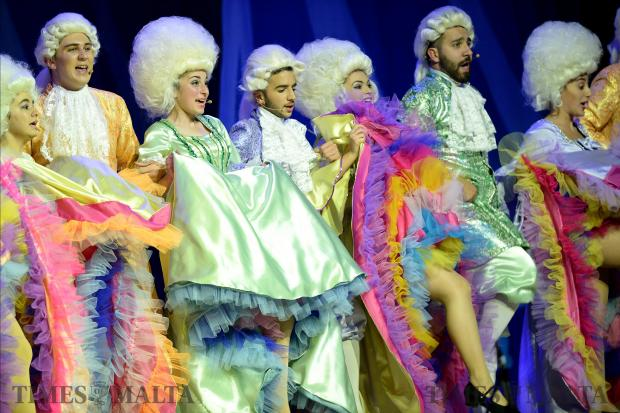 Dancers perform at the MADC Pantomine Cinderella, at the MFCC in Ta'Qali on December 21. Photo: Matthew Mirabelli