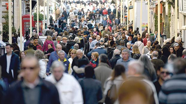 Increasing reliance on foreigners to address Malta's shortage in the workforce may push the population to the 700,000 mark in a few years, the Malta Employers' Association has warned. Photo: Jonathan Borg