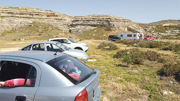 The haphazard parking at Dwejra should be regulated to avoid offroad excursions onto sensitive sites; unlike the Azure Window collapse, this issue is within our control.