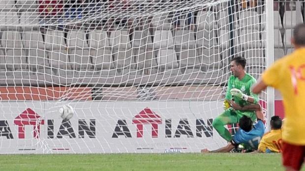 Birkirkara's goal after 15 minutes