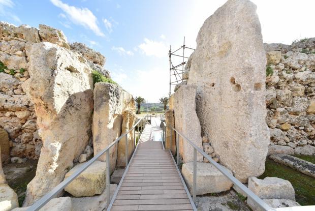 Ġgantija Temples. Photo: Heritage Malta