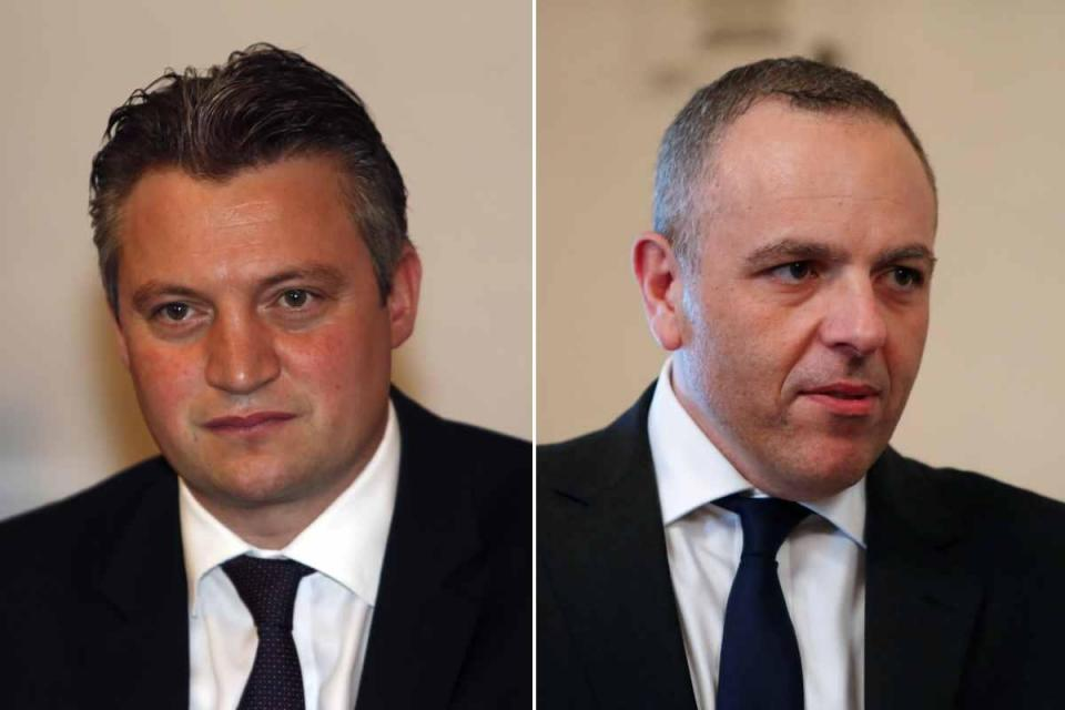 The architects of Joseph Muscat's election in 2013 also precipitated his downfall. Konrad Mizzi (left) planned the power tariffs strategy in 2013 while Keith Schembri modernised the party.