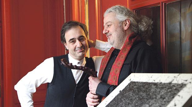 Paul Gulda (left). Photo: Marwan Abado