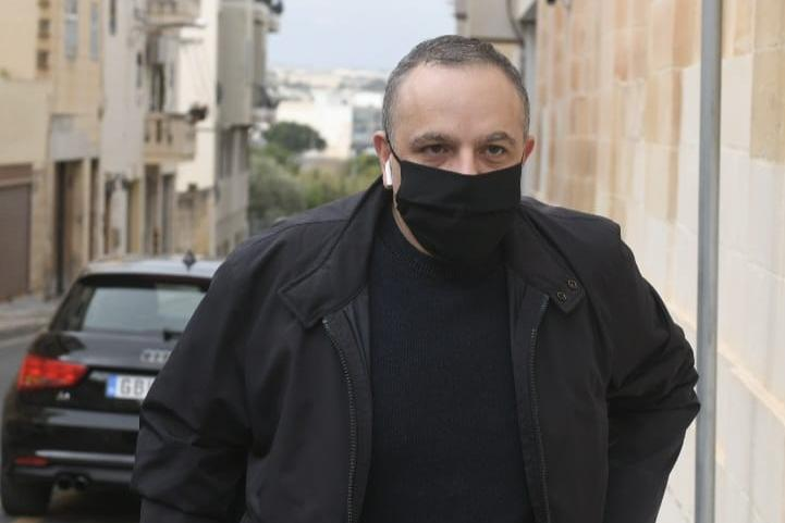 Keith Schembri, pictured on Saturday, received payments totalling €100,000 from Brian Tonna. Photo: Matthew Mirabelli