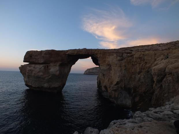 The Azure Window last week. Photo: John Portelli