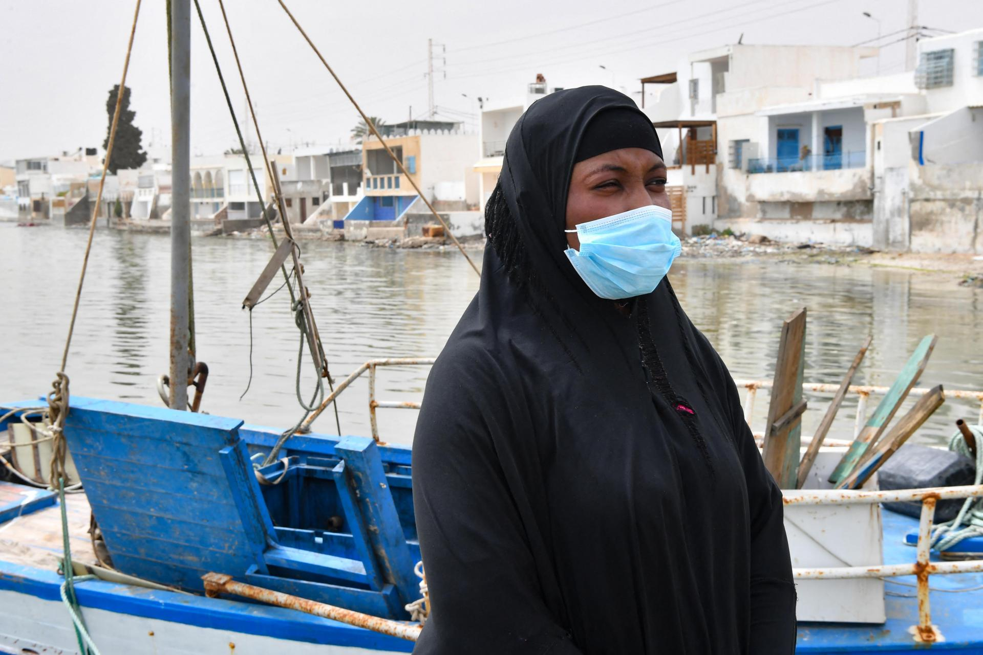 Aminata Traoure survived a shipwreck in early March while trying to reach Europe.