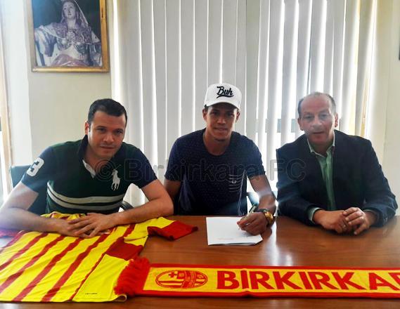 Eduardo Dos Santos unveiled as Birkirkara's latest signing. Photo: Birkirkara