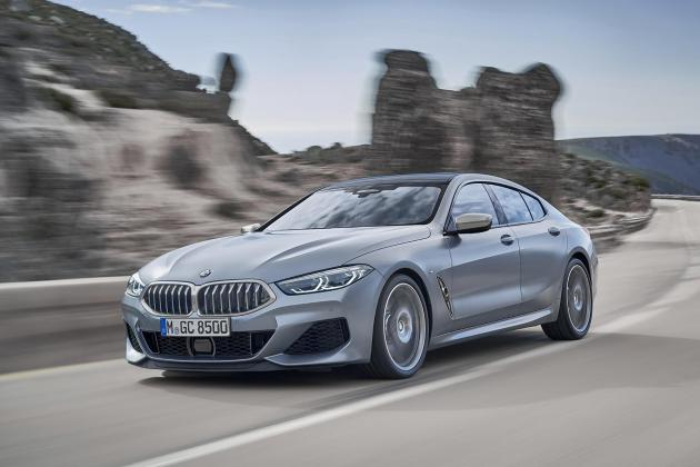 BMW 8 Series Gran Coupe brings four doors to the firm's sleek luxury model