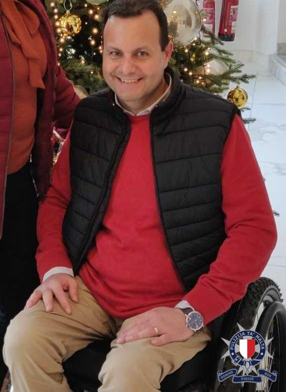 Marcel Pisani has been in a wheelchair since a fall three years ago. Photo: Police