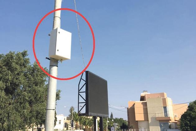Illegal billboard gets electricity, courtesy of Enemalta