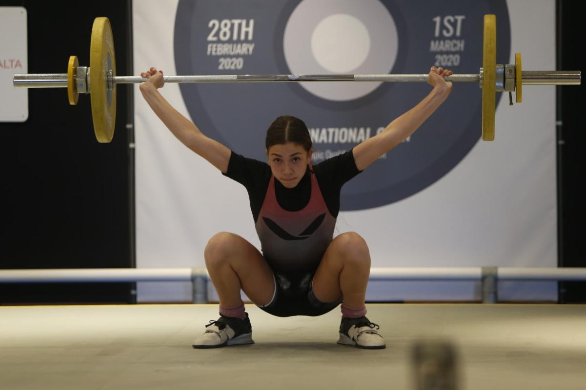 Lifter Thornton sets national marks at Malta International Open