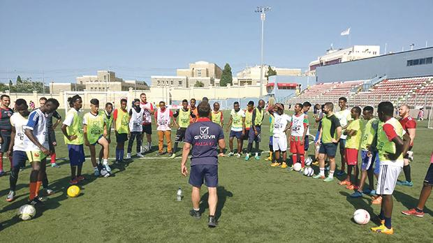 A community inclusion programme recently launched nationwide by the Malta Football Association means that a number of migrant children, teens and (in some cases) even adults get to join their Maltese counterparts on the pitch.