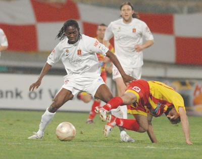Frank Temile - finalist in three categories of the Malta Football Awards.
