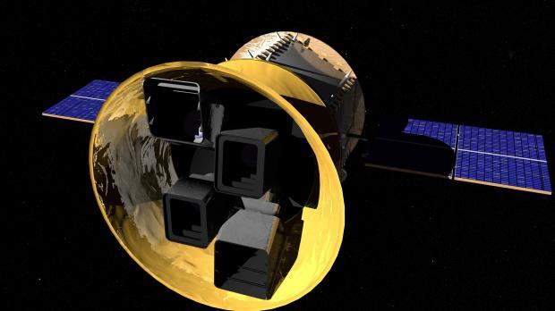 Artist's rendering of NASA's Transiting Exoplanet Survey Satellite