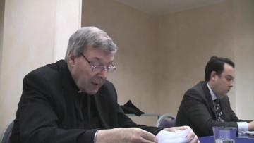 Footage emerges of police confronting Pell over sexual abuse