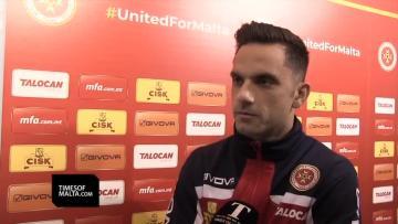 Watch: Schembri eye positive finale with Malta shirt | Video: Matthew Mirabelli