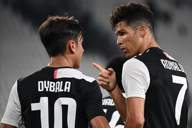Updated: Ronaldo's penalty double edges Juve closer to title in Atalanta draw