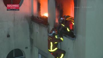 Watch: Ten dead in Paris building blaze, woman arrested on suspicion of arson