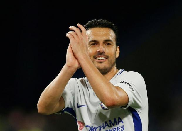 Pedro extended his stay at English side Chelsea.