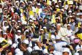 Pope Francis holds historic public mass in Abu Dhabi