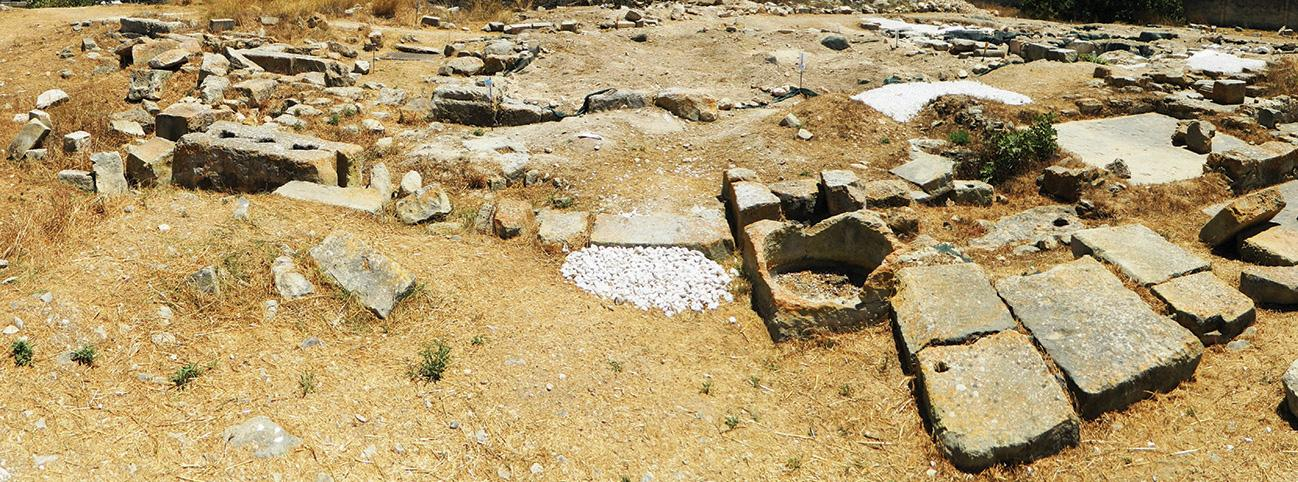 The Roman villa in Żejtun was discovered in 1961 when works began on a school in the area. The first archaeological dig of the site was carried out between 1970 and 1976.