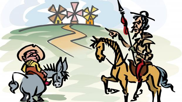 an analysis of the book don quijote de la mancha by miguel de cervantes Essays and criticism on miguel de cervantes' don quixote de la mancha  as the don learns about the book that has been written  of don quijote de la mancha.