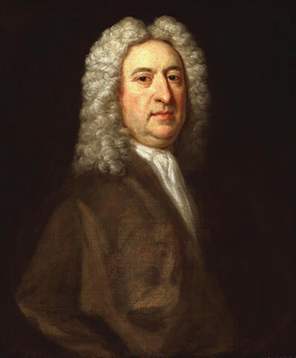 A portrait of Sir James Thornhill by Jonathan Richardson, Amersham Museum