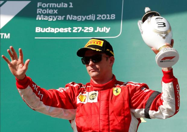 Kimi Raikkonen could be set to lose his seat at Ferrari.