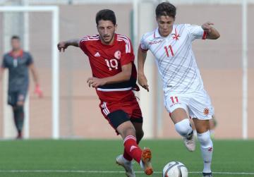 First-half goals sink Malta U-21