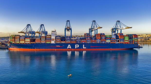 The Freeport this week handled over 8,000 containers on the 398-metre-long APL Changi, which has capacity to carry more than 17,000 containers, before sending it on its way.